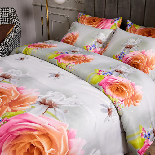 DM723Q Duvet Cover Set - Dolce-Mela Bedding