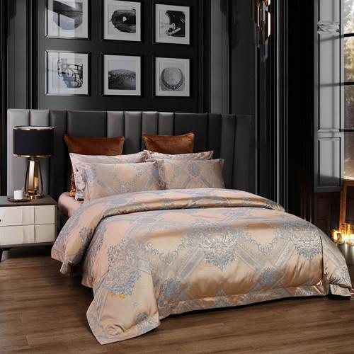 8171460157404 DM810K Luxury Jacquard King Size Duvet Cover Set