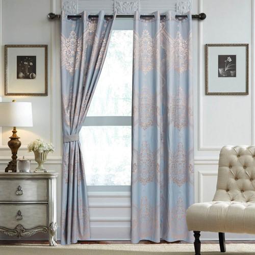 DMCU810 Jacquard Curtains by Dolce-Mela Curtains Wholesale-Dropship