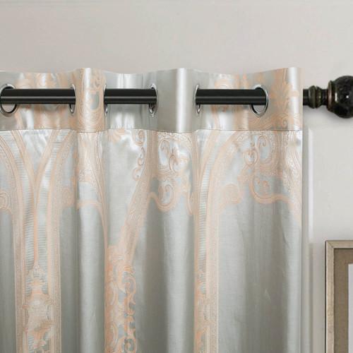DMCU812 Jacquard Curtains by Dolce-Mela Curtains Wholesale-Dropship