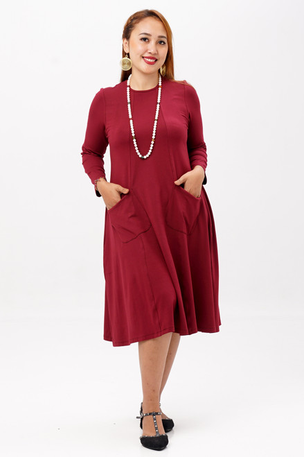 Passport Dress w/ Zip Pocket