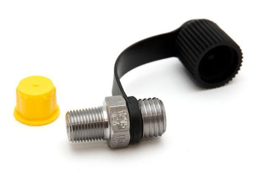 """Pressure fitting Bx 1215 male to 1/8"""" NPT male"""
