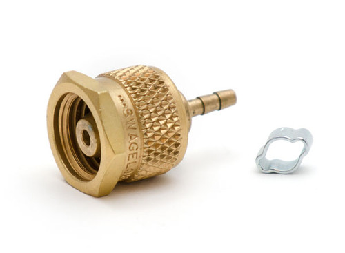 """Pressure fitting 1/4"""" SWK to 1/16"""" hose adapter"""