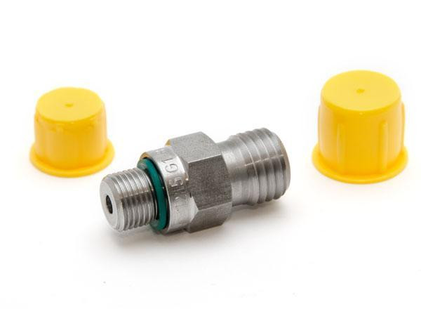 """Pressure fitting Bx 1215 male to G1/8"""" male"""