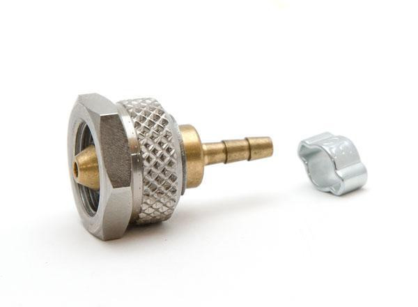 """Pressure fitting Bx G1/8"""" female to 1/16"""" ID hose adapter"""