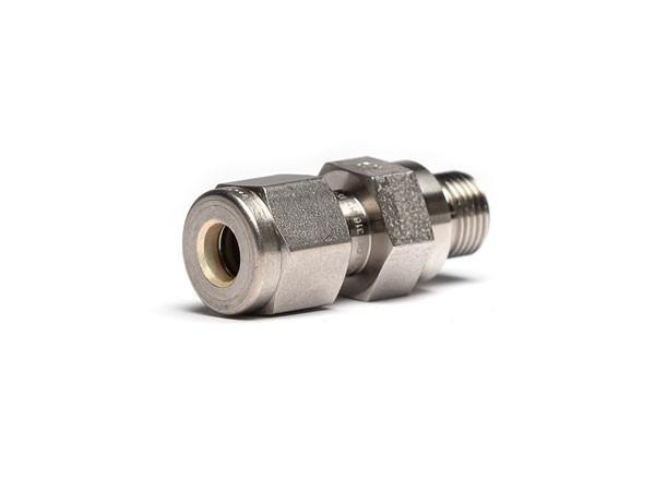 "Pressure fitting G1/8"" male to 1/4"" SWK tube fitting"