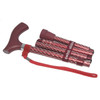 switch sticks Folding Walking Stick, Engraved Ruby