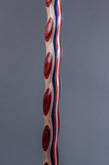 NEW! Twisted Colorwood Walking Cane