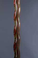 NEW! Twisted Colorwood Derby Walking Cane