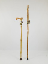 "Bamboo Cane 37"" (handle cosmetics) + Ash Stick 48"" (knots) 1097"