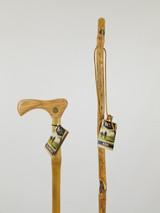 "Bamboo Cane 37"" (handle cosmetics) + Ash Stick 48"" (knots) 1097"