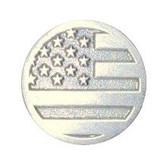American Flag Medallion