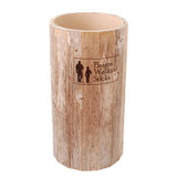 Barnwood Barrel Display Stand