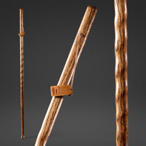 Backpacker Oak Walking Stick For Sale Image