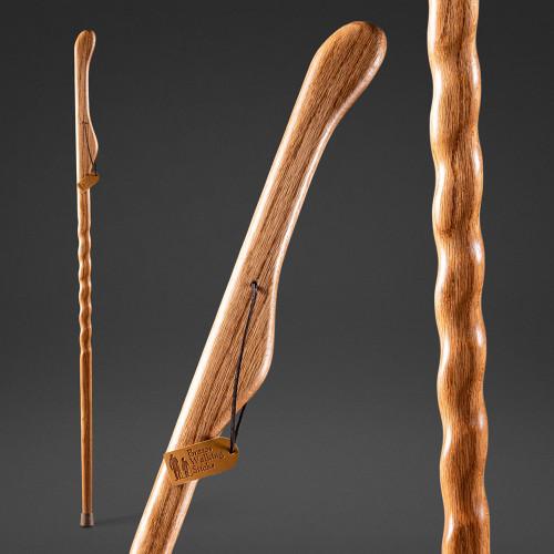 Hitchhiker Twisted Oak Walking Stick image