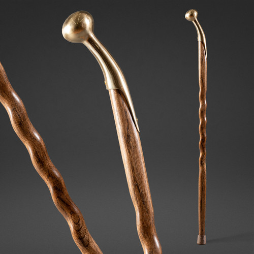 Twisted Hame Top Walking Cane