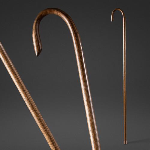 Shepherd's Crook Walking Stick Image