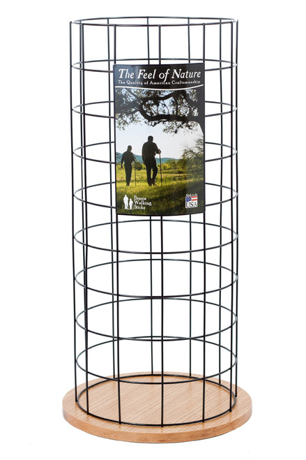 Wire Grid Display Stand