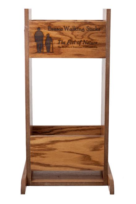 Oak Display Stand