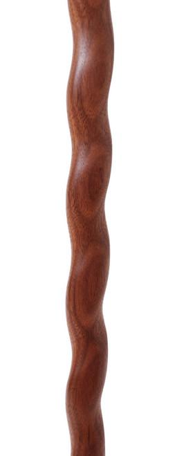 "Walnut & African Rosewood w/Elk Horn & African Blackwood Handle-40.25"" CS0020"
