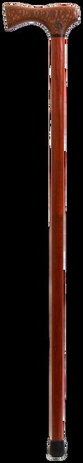 Lacewood Handle with Paduak Shaft