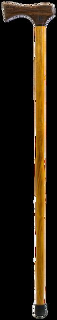 Bocote Handle with Yellowheart Shaft