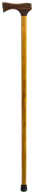 Bocote Handle with Yellowheart Shaft