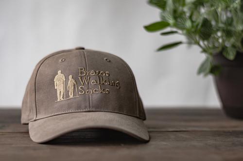 Brazos Walking Stick Cap -Brown