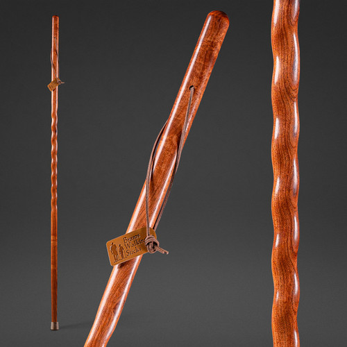 """Mesquite Twisted Walking Stick (Discontinued Size) 48"""" BOGO"""
