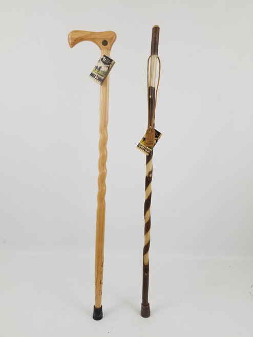 """Twisted Oak Cane 40"""" (discontinued) + Sweet Gum Photostick 41"""" (discontinued) 1082"""