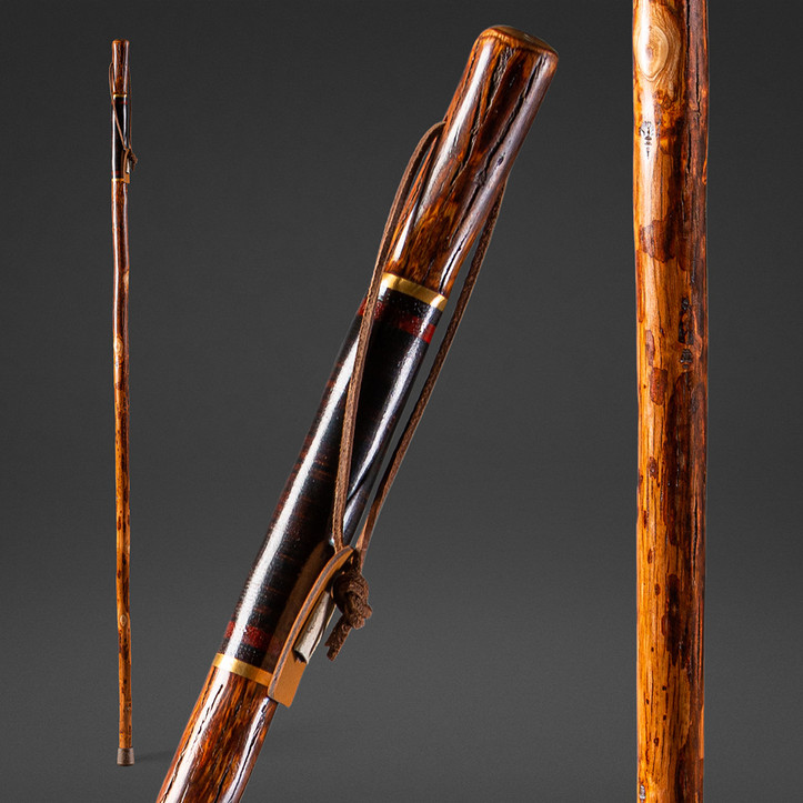 Leather Safari Exotic Walking Stick