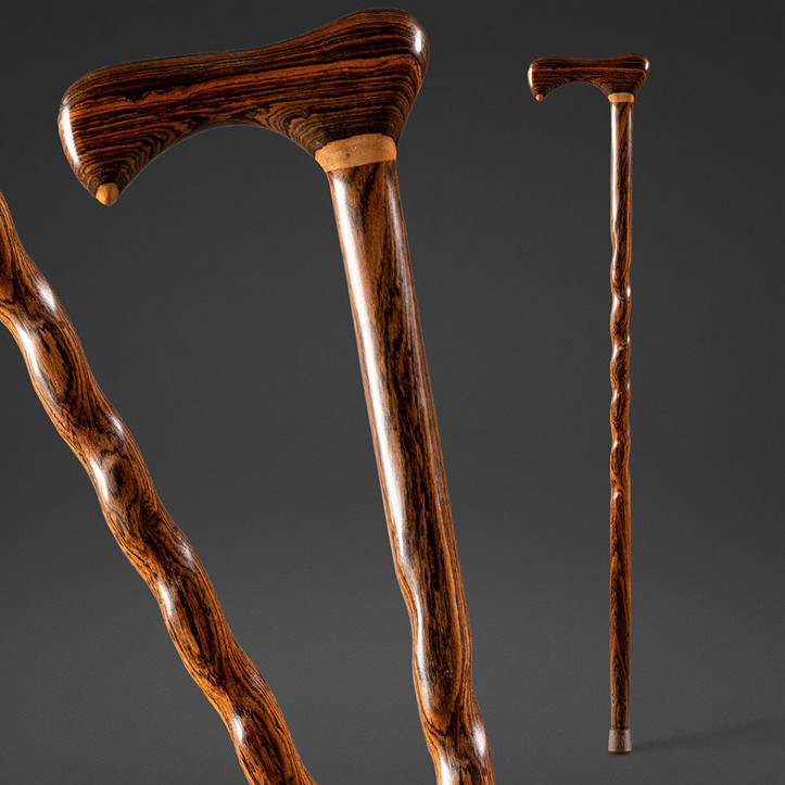 Twisted Exotic Walking Cane