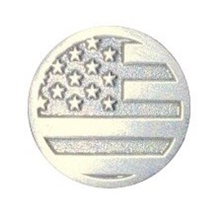 American Flag Medallion