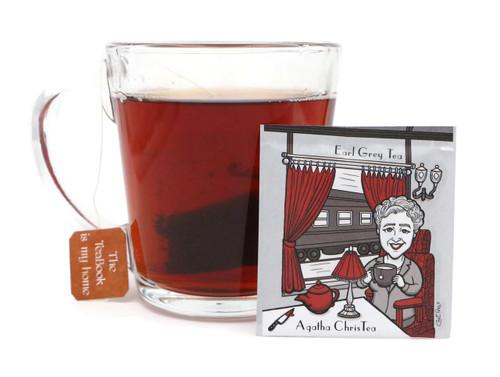 Agatha ChisTea: Organic Earl Grey Tea - (LiTEArary)