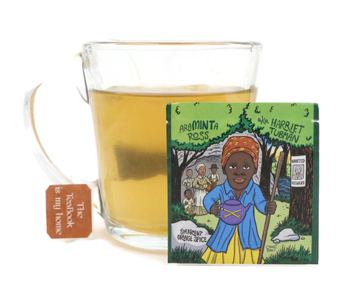 20pk - AraMINTa Ross (Harriet Tubman) - Spearmint Orange Spice (EqualiTEA)