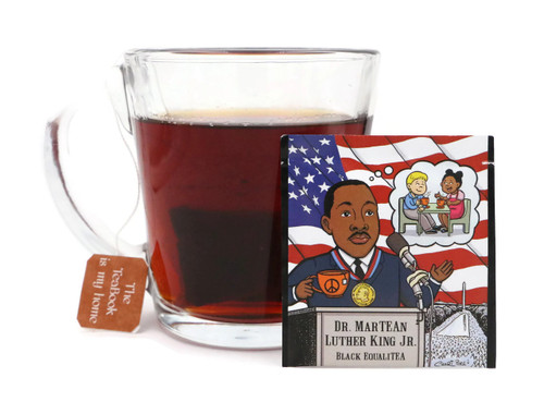 20pk - MarTEAn (Martin) Luther King Jr: Organic English Breakfast Tea - (EqualiTEA)