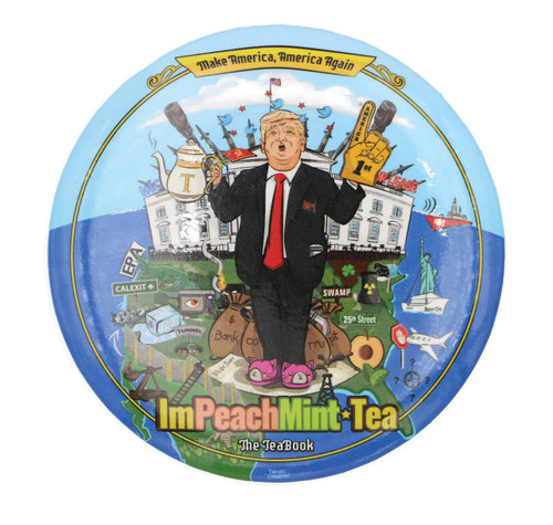 "Trump ImPeachMint  3"" Button"
