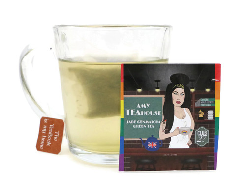 Amy Teahouse: Jade Genmaicha Green Tea (LGBQTEA Series).