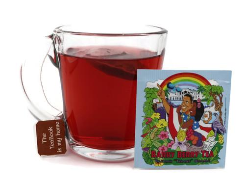 "Barry Berry Tea:  Barack ""Tisane"" Obama  Herbal Tea (PoliTEAcal Series)"