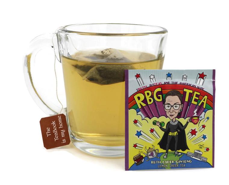RBG Tea: Ruth Bader Ginseng Lemon Green Tea