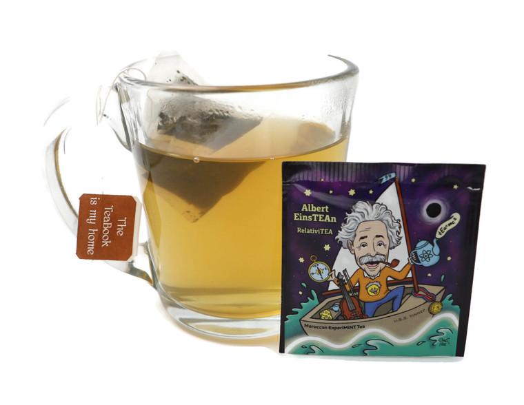 Albert EinsTEAN - RelativiTEA - Moroccan ExperiMINT Tea (ScienTEAists)