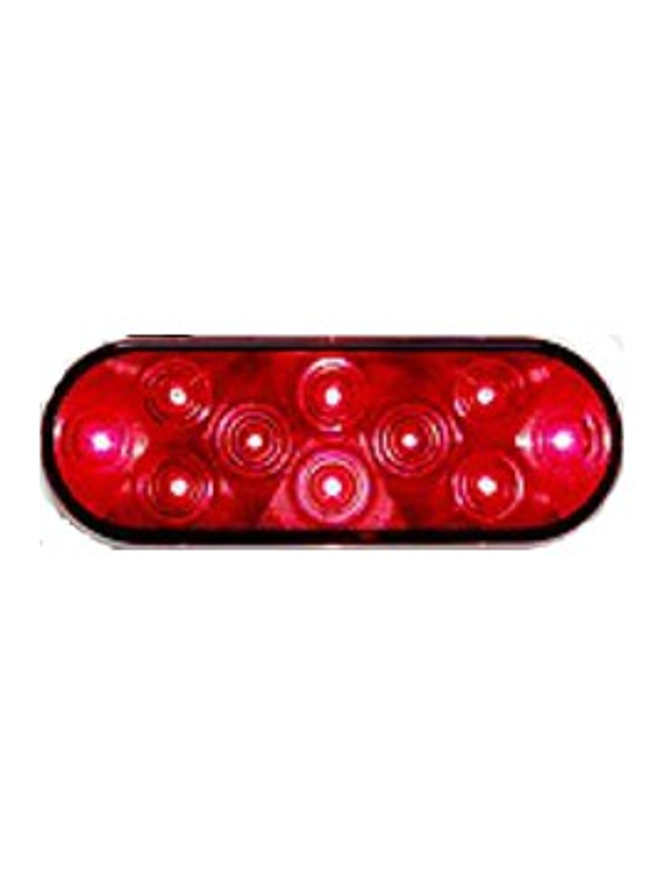 LED421R10SM --- Oval Sealed LED Surface Mount Tail Light - 10 Diodes