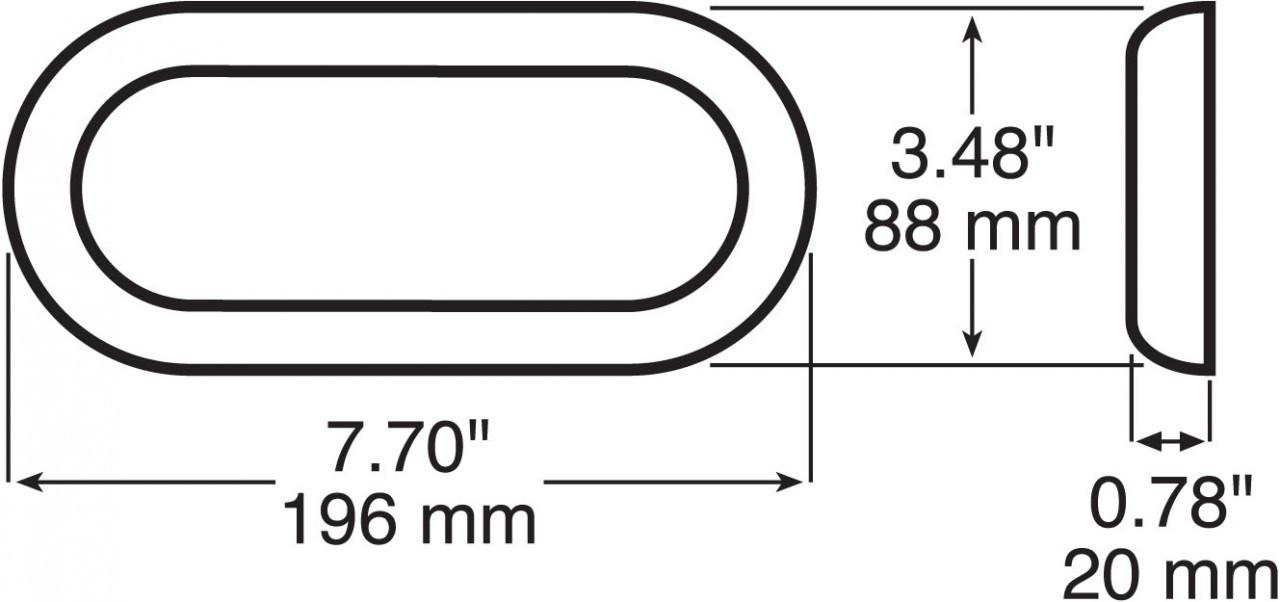 423-11 --- Chrome Bezel for LED421R10SM