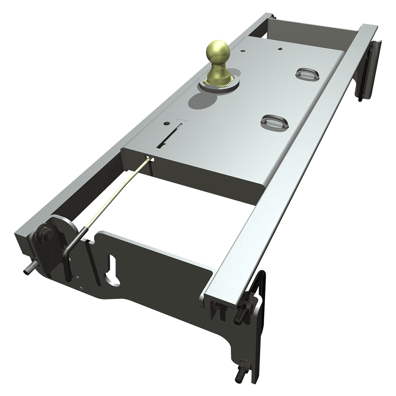 BW1308 --- B&W 30K Underbed Turnover Gooseneck Trailer Hitch - Dodge