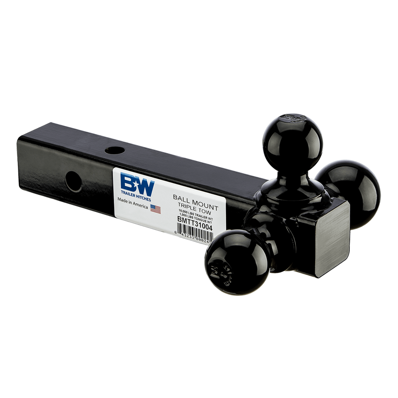 BW31004 --- Ball Mount, Tri-Ball Combination