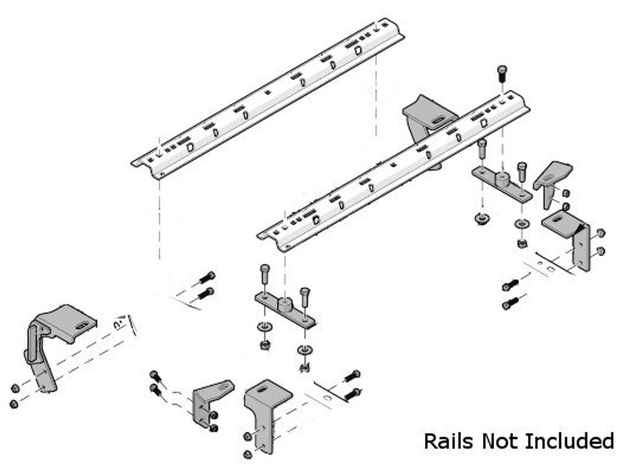 8552030 --- Demco Rail Kit - Premier or Ultra Series