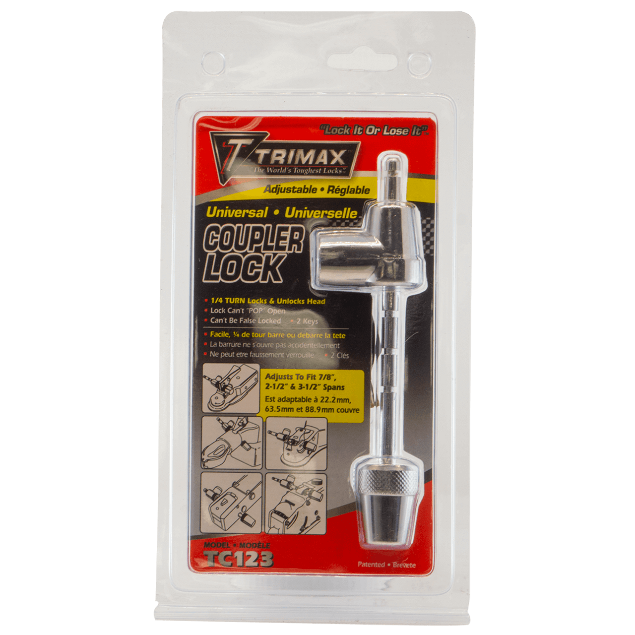 TMCLL --- Trimax™ Coupler Lever Lock