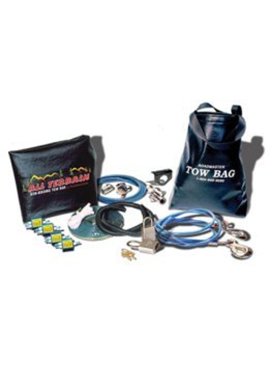 9243-2 --- Roadmaster Combo Kit for Falcon All Terrain and BlackHawk 2 All-Terrain Tow Bars with Coiled Cables & Coiled Wiring