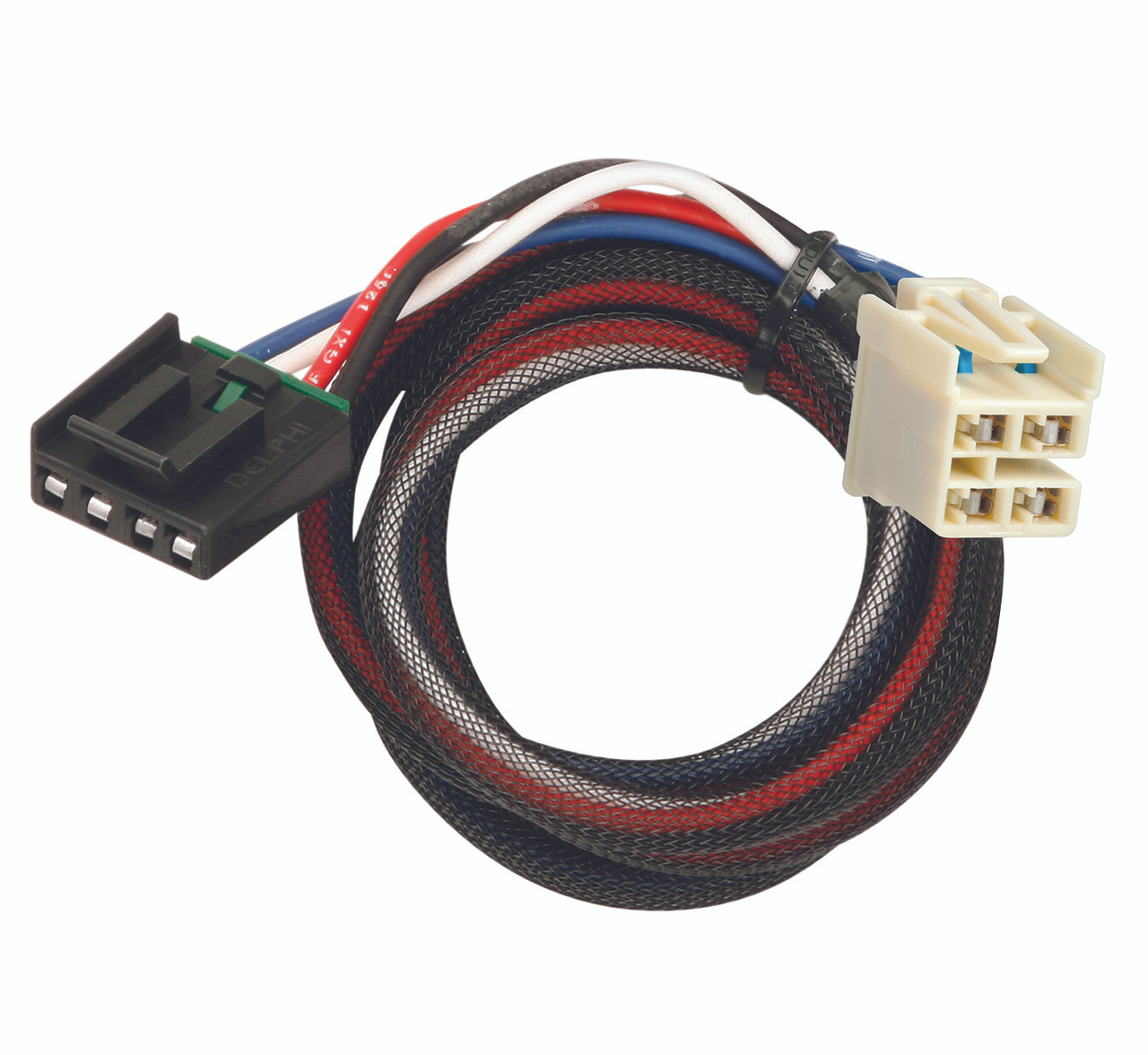 3016 --- tekonsha & draw-tite brake control dual plug wiring harness -  2014-18 chevy - croft trailer supply
