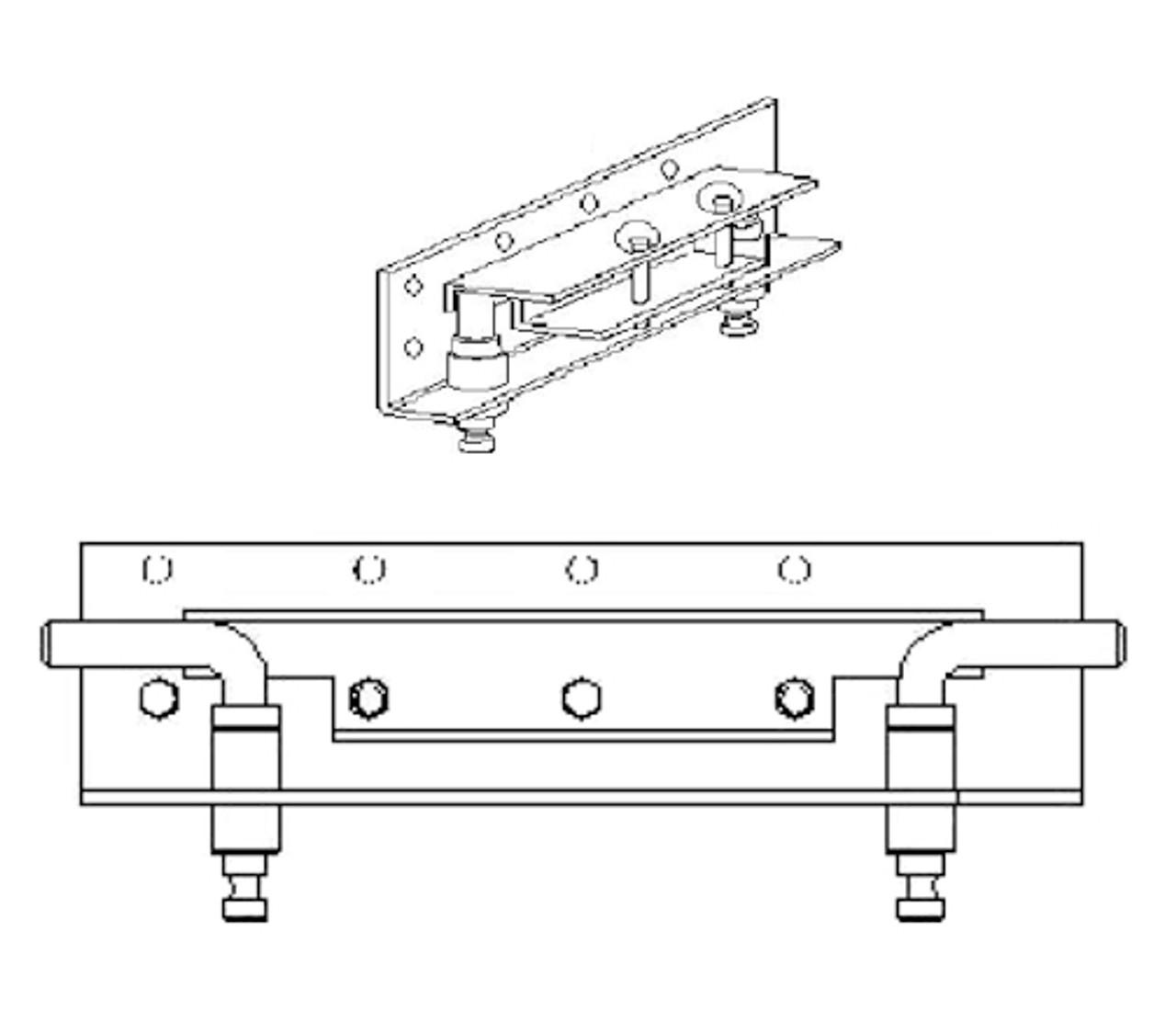6004 --- Demco UMS Adapter plates, 24-UAS-18